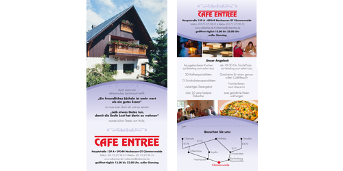 Flyer Cafe Entree
